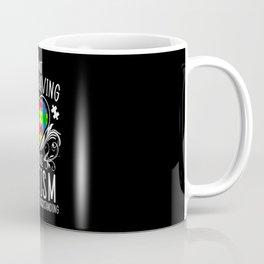 I'm Not Misbehaving I Have Autism Awareness ASD Coffee Mug