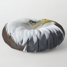 The Bald Eagle Floor Pillow