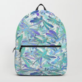 Dragonfly Holiday | White Backpack