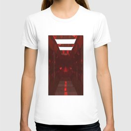 January Babies  Garnet Cut Gemstone T-shirt