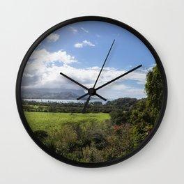 A Land Called Hanalei Wall Clock