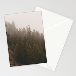 Elevation Drop - Foggy Forest PNW Stationery Cards