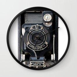 Vintage Autographic Kodak Jr. Camera Wall Clock