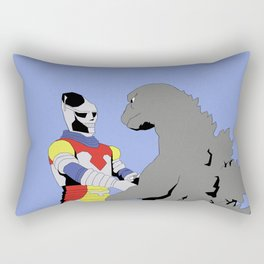 Godzilla vs Megalon Rectangular Pillow