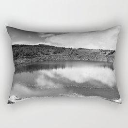 Pau-Pique lake Rectangular Pillow