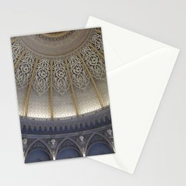 At the music hall Stationery Cards