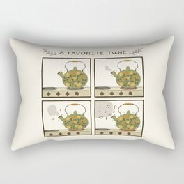 A Favorite Tune - Whistling Tea Kettle Rectangular Pillow