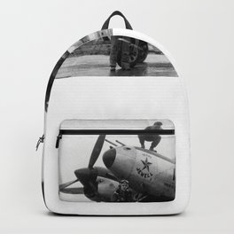 370th Fighter Group P 38 Texas Jewell II Backpack