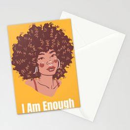 I Am Enough Stationery Cards
