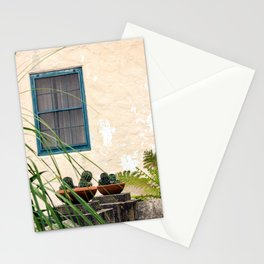 Santa Barbara Mission Window Stationery Cards