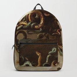 Peter Paul Rubens - The Head Of Medusa - Baroque Painting Backpack