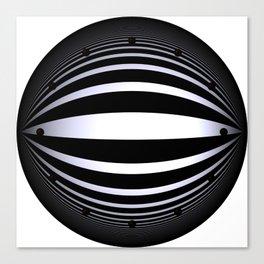 clock face -166- Leinwanddruck