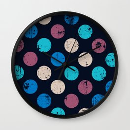 Dark and Light Sides of the Moon Wall Clock