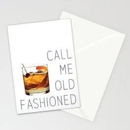 Call Me Old Fashioned Print Stationery Cards