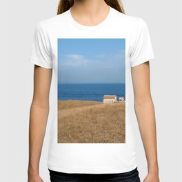 beach front lighthouse medulin croatia Istria T-shirt