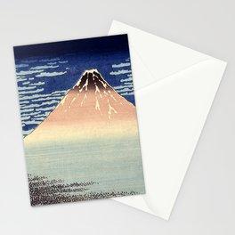 Red Fuji Mountain. Gaifû kaisei. Katsushika Hokusai. Ôban yoko-e Stationery Cards