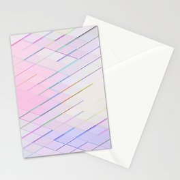 Re-Created Vertices No. 5 by Robert S. Lee Stationery Cards