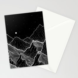 Sea mountains Stationery Cards