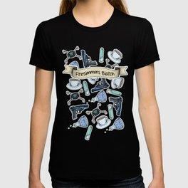FitzSimmons Biatch Pattern T-shirt