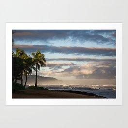 North Shore Hawaii Art Print