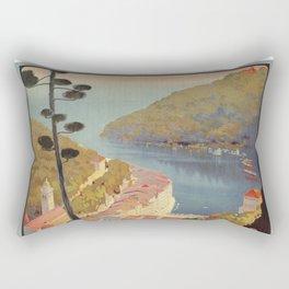 Portofino Italian Riviera Travel Rectangular Pillow