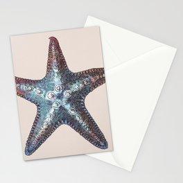 Nautical Starfish Stationery Cards