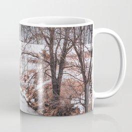River in Winter-Minnesota Landscape Photography Coffee Mug
