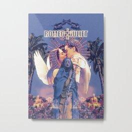 romeo + juliet (1996) poster  Metal Print