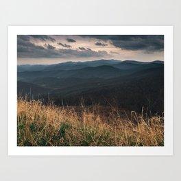 Shenandoah National Park Art Print