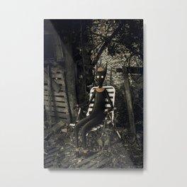 Disfrutando del silencio Metal Print