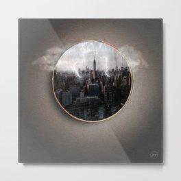 Portal Ciudad Metal Print