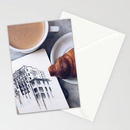 New York Breakfast Stationery Cards