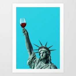 Liberty of drinking Kunstdrucke