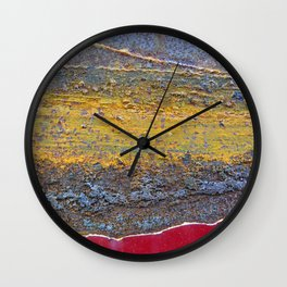Colors of Rust 824 / ROSTart Wall Clock