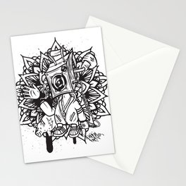 Royal Stain Pager One B Box Boy in Mandala Stationery Cards