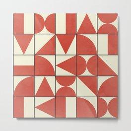 Geometric Puzzle #1 Metal Print