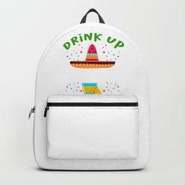Cinco de Mayo drink up gringo Backpack