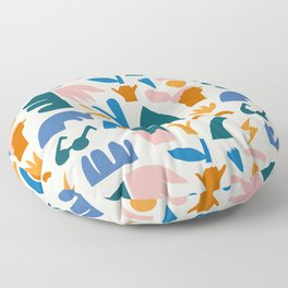 Vaya a la playa Floor Pillow
