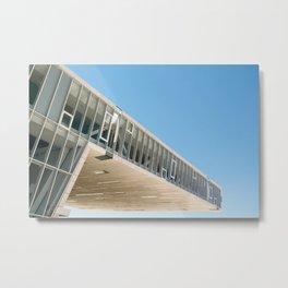 Architectronic Metal Print
