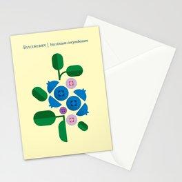 Fruit: Blueberry Stationery Cards