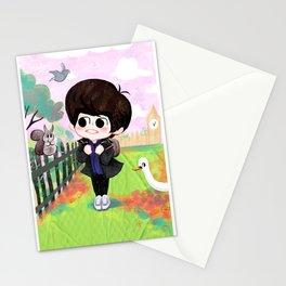 SHINee Minho & London Squirrel Stationery Cards