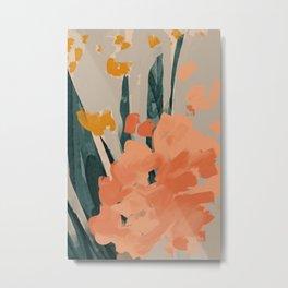 Bouquet Of Summer Citrus Metal Print