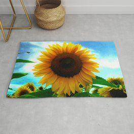 The sun will come out tomorrow Rug