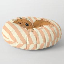 Pumpkeranian Floor Pillow