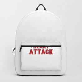 Heart Surgery Cardiac Heart Attack Survivor Gift  Backpack