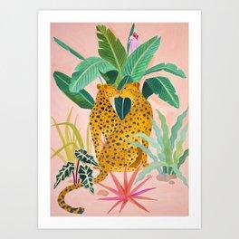 Cheetah Crush Kunstdrucke