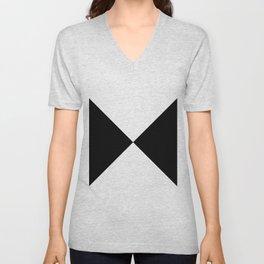 Black x White Unisex V-Neck