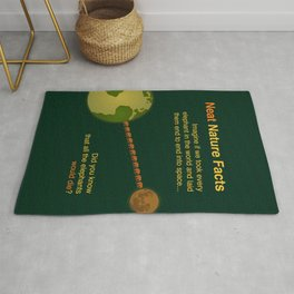 Neat Nature Facts Rug