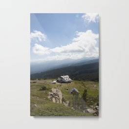 The Hut Metal Print