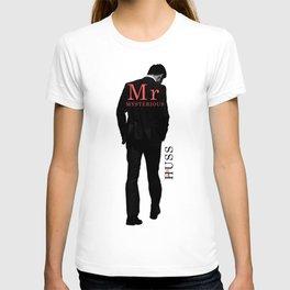 Mr. Mysterious by JA Huss T-shirt